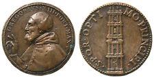 Médaille GREGOIRE XIII (1572-1585) Tour du Capitole 1579