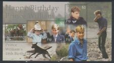 Fiji - 2000, 18th Birthday of Prince William sheet - MNH - SG MS1101