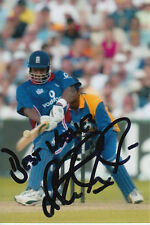 ENGLAND CRICKET HAND SIGNED ALEX TUDOR 6X4 PHOTO 4.
