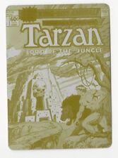 Tarzan 100th Anniversary 2012 Cryptozoic Printing Plate Card Lord of Jungle #38