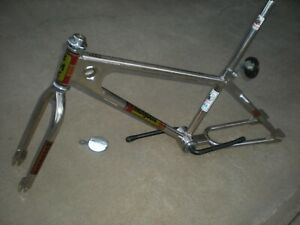 Old School Vintage BMX Mongoose frame fork and more 1981 with clamp, crank post