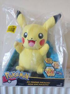 "10"" My Friend Pikachu Plush - NEW"