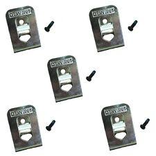 DeWalt OEM N268241 N169778 (5-Pack) belt clip/hook for 20V DCD980 DCD985