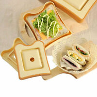 DIY Sandwich Maker Toast Box Cake Rice Roll Mold Bento Küche Gadgets DAP Sa M0P7