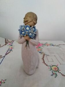 DEMDACO 2011 Willow Tree Figurine - Forget Me Not