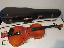 alte Geige Violine 4/4 inkl. Bogen u. Koffer
