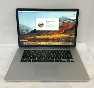 "Apple MacBook Pro 15"" A1398 (M 2012) Retina Core i7 2.3 GHz 8 GB 250 GB Warranty"