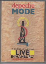 DEPECHE MODE The World We Live In And Live In Hamburg DVD NTSC New