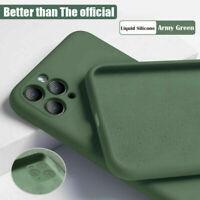 For iPhone 11 Pro Max / 11 Pro / 11 Liquid Silicone Case Camera Protective Cover