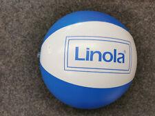 Wasserball Linola blau weiß 36 cm groß Wasser Ball