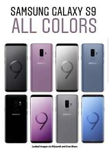 *NEW SEALED*  Samsung S9 G960 64GB USA SMARTPHONE/MidnightBlack/Carrier:for ALL