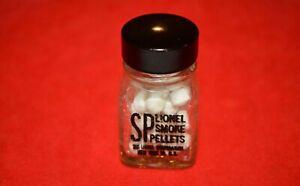 ORIGINAL LIONEL SP 50 SMOKE PELLETS IN EARLY BOTTLE - NO RESERVE