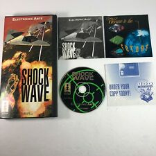 NICE Shock Wave 3DO For Panasonic Long Box Case w/ Manual CIB Complete Tested