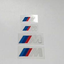 4 for BMW M Power Caliper Brake Die Cut Decal Sticker Vinyl Self Adhesive Emblem