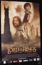 Lord Of The Rings movie poster : The Two Towers movie poster