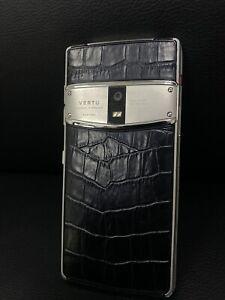 Original Vertu Constellation X  full Alligator ,Unlocked, Luxury Cell Phone, UK