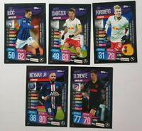 Topps Match Attax On Demand Champions League 19/20 5 Karten Nr 56-60