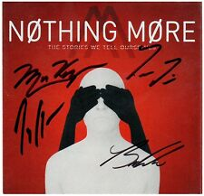 NOTHING MORE The Stories We Tell Oursleves Ltd Ed RARE Signed By All CD Booklet