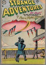 Strange Adventures 46 (1954) Low Grade Captain Comet Gil Kane