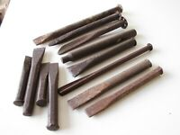 COLLECTION OF STONEMASONS TOOLS -- 12