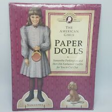 Vintage 1992 The American Girls Paper Dolls SAMANTHA Pleasant Company SEALED