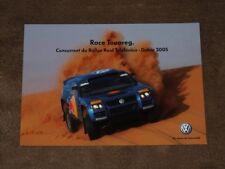VOLKSWAGEN Touareg - (2005) DAKAR promo France, Karte/card 10x15 cm