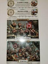 Ogor Mawtribes Warscrolls from Feast of Bones, AOS