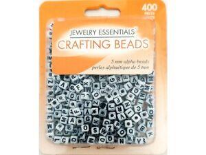 Horizon Group Jewelry Essentials Crafting Bead 5mm Alphabet Beads #JC11936-12