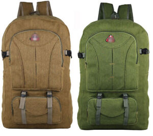 60L Hiking Rucksack Outdoor Travel Backpack Bag Sports Waterproof Camping Pack