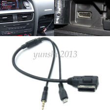 35CM MDI MMI USB Cable Adapter Interface For Audi VW Skoda Seat Millet Samsung