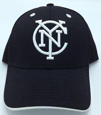 Mls New York City Fc Adidas Flex Fit Cap Hat Beanie Style #m596z New Sporting Goods Basketball