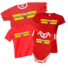 WALES Patriotic Fan Kit T-Shirt *Choice Of MENS LADIES KIDS BABY GROW*