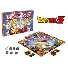 Official Hasbro Dragon Ball Z Monopoly Board Game Dragonball