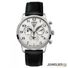 Junkers Herrenuhr Chronograph Serie Flatine 6380-4 -mit Alarm
