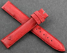 CARTIER Bracelet/Band 15mm Autruche 15X14mm Red/Rouge