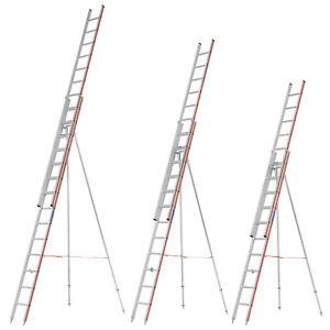 Hymer 3050 Obstbaumleiter zweiteilig Baumleiter Gartenleiter Aluleiter Leiter