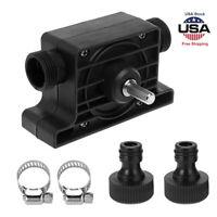 US Portable Electric Drill Pump Self Priming Transfer Oil Fluid Pump Water Pumps