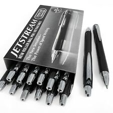 Uni-Ball Jetstream SXN-210 - Black 1.0mm Retractable Rollerball Pen - 12+2 Free