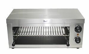 Davlex Salamander Grill Commercial Electric Freestanding Catering Grill Toaster