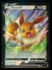 Pokemon EEVEE V SWSH065 - ULTRA RARE HOLO PROMO - MINT