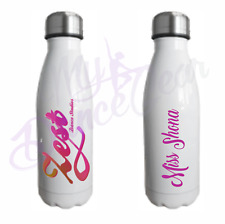 500ml Personalised Water Bottle Premium Vacuum Stainless Steel Chilly Flask Gift