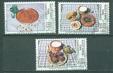 Türkisch - Zypern 1995  Michelnr. 399 - 401 mit FDC Stempel.