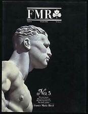 FMR America No 5 October 1984 First Year / First Edition 1986