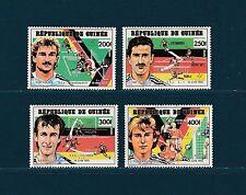 Guinée république  coupe du monde de football 1991   num : 911/14  **