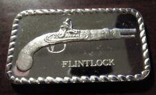 Vintage Flintlock Pistol 1 Troy Oz. .999 Fine Silver Bar - 2A