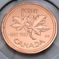 1867-1992 Canada 1 One Cent Penny Canadian Brilliant Uncirculated BU Coin G379
