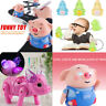 Kids Follow Any Drawn Line Magic Pen Inductive Cute Pig Model Children Toy Gift