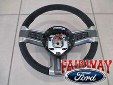 10 thru 13 Mustang OEM Ford Alcantara Suede Leather Steering Wheel BOSS 302 -NEW
