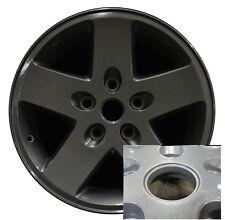 "17"" Jeep Wrangler 07 08 09 10 11 12 13 14 15 Factory OEM Rim Wheel 9074 Charcoal"