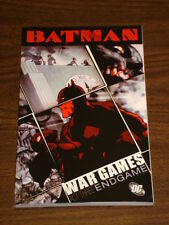 BATMAN WAR GAMES ENDGAME ACT 3 DC  ED BRUBAKER GN 9781845761226